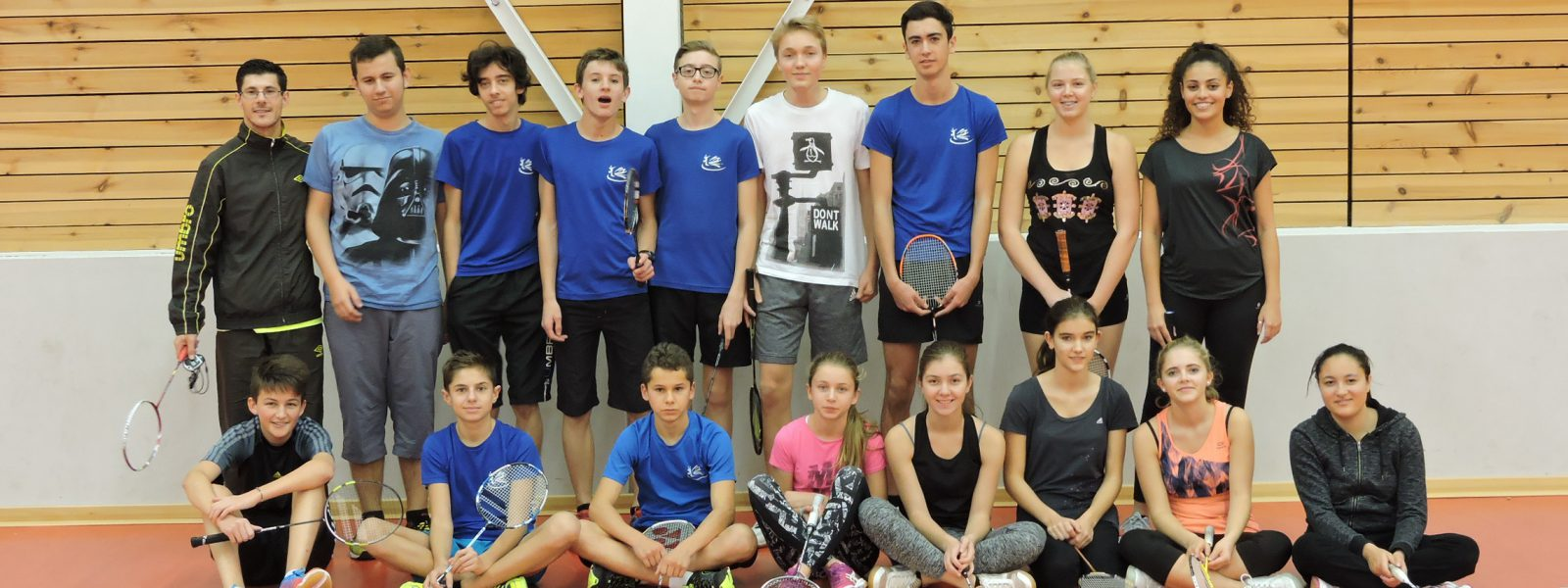 Ecole de bad 2016 : Cadets, Juniors